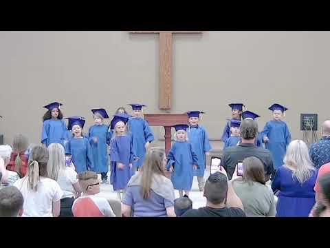 Emporia Christian School 2021 Kindergarten Graduates - The full armor of God (Ephesians 6:10, 13-18)