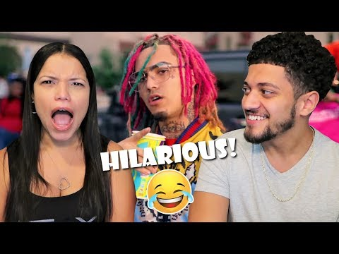 Mom Reacts To LIL PUMP'S MUSIC VIDEOS! *GUCCI GANG, BOSS, NE