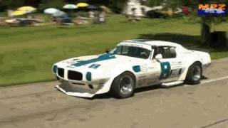 Mighty 700hp Pontiac Trans Am At The Hillclimb Reitnau Bergrennen - Great V8 Sound!! Fv.3