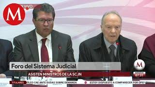 Se lleva a cabo Foro del Sistema Judicial en México