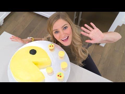 PAC-MAN CAKE!
