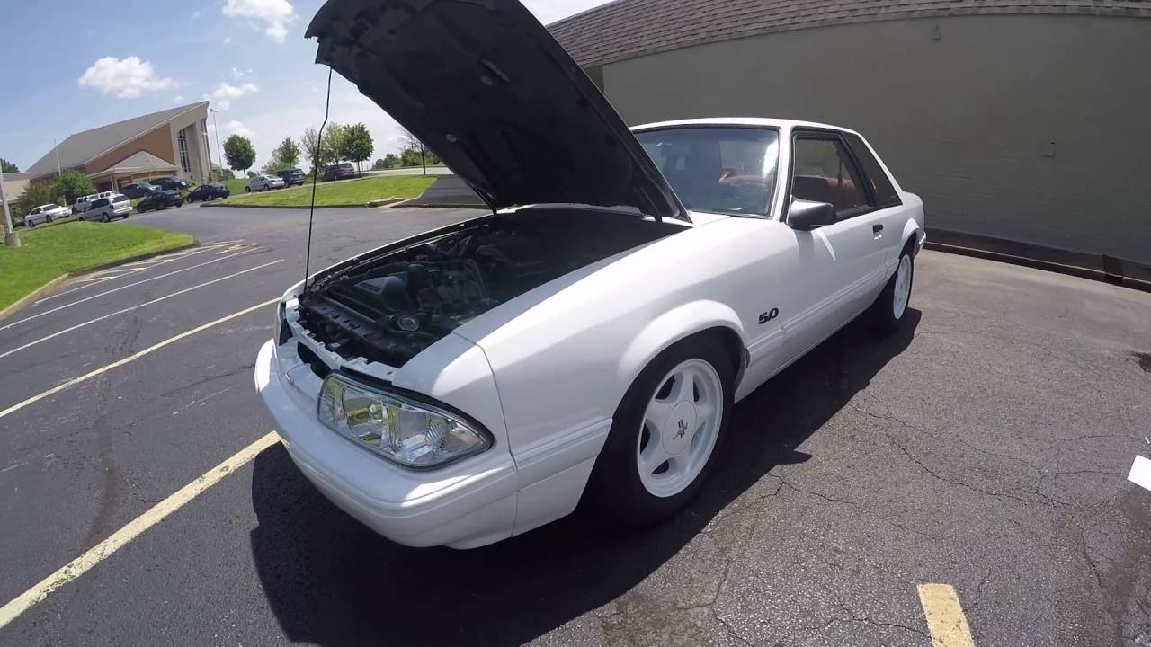1991 mustang notchback for sale 5 0