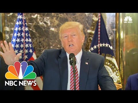 President Trump Argues Over Charlottesville, Race Relations in Heated Press Conference | NBC News