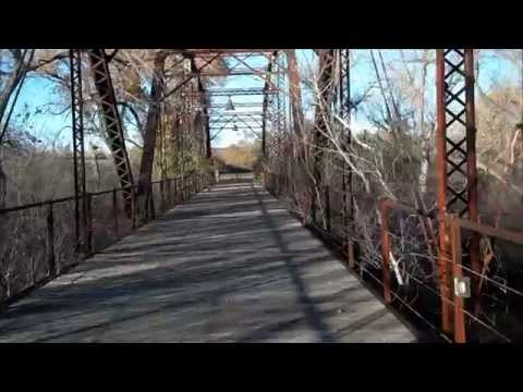 Virtual walk of Canadian River Wagon Bridge