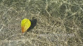 GRACIAS: Meditacion Guiada de 1 Minuto | A.G.A.P.E. Wellness