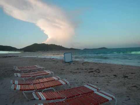 Orient Beach 2 Weeks After Hurricaine Gonzalo (Nov 2014)