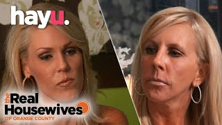 The Real Housewives of Orange County | Vicki Causes Tension At Dinner