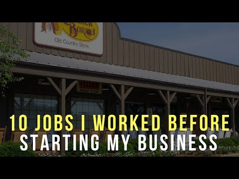 10 Jobs I Worked Before Starting My Internet Business 6 Years Ago