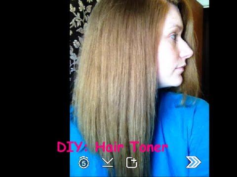 Diy Hair Toner Youtube