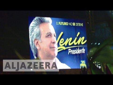 Fraud row erupts in Ecuador presidential election