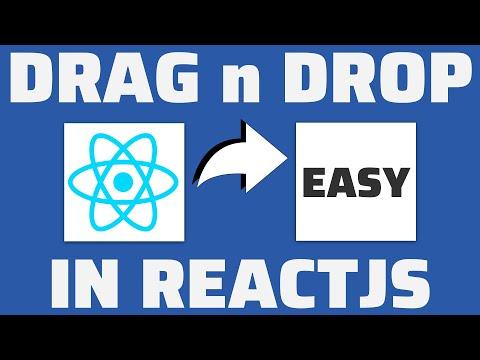 Easy React Drag & Drop tutorial thumbnail