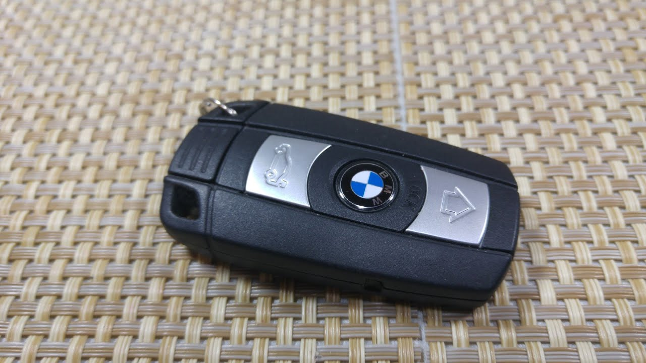 How To Change Replace Smart Key Fob Battery BMW 1 3 5 7 Series X5 FCC KR55WK49147