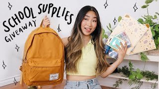 Back to School Supplies Haul & Giveaway! | JENerationDIY