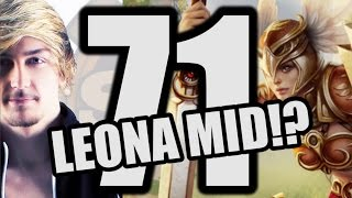 Siv HD   Best Moments #71   LEONA MID!?