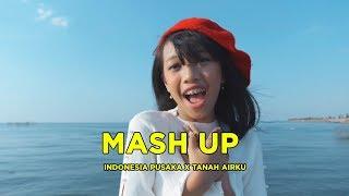MASH UP INDONESIA PUSAKA X TANAH AIRKU | MANDA & NAYLA ( FEAT. TITO & VINNA )