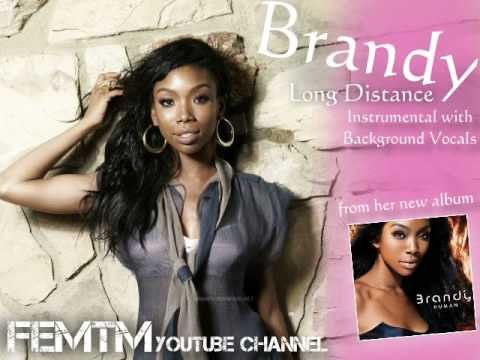 Brandy - Long Distance Instrumental + Off. Background Vocals