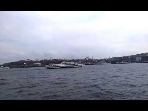 Karaköy-Kadıköy Ferry line travel part 2 - i love istanbul
