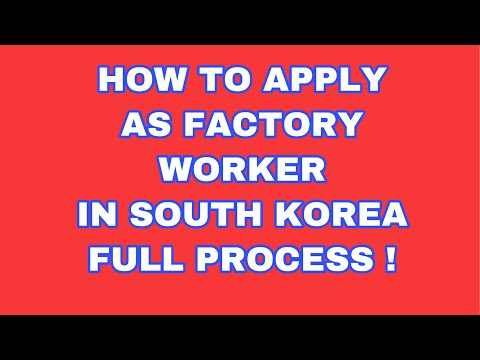 HOW TO WORK IN KOREA ORIENTATION part1