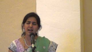 Daasana maadiko enna - Sthuthi Bhat @ SKV Temple.