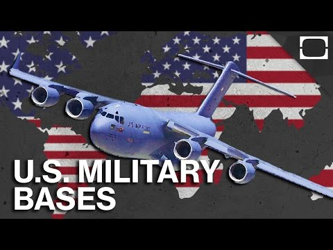 Why Does The U.S. Have So Many Military Bases Overseas?