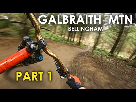 SICK FLOW BRO! Riding 'SST' at Galbraith Mtn Bellingham WA - Youtube Collab! | Jordan Boostmaster