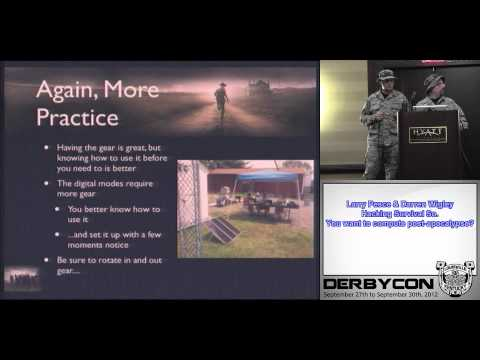 3 1 3 Larry Pesce Darren Wigley   Hacking Survival So  You want to compute post apocalypse