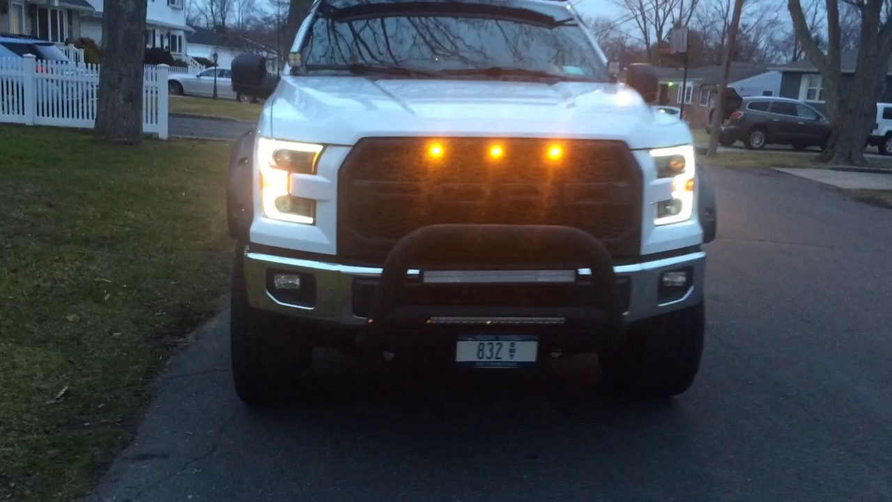 2015 ford f 150 w anzo headlights led headlights youtube. Black Bedroom Furniture Sets. Home Design Ideas