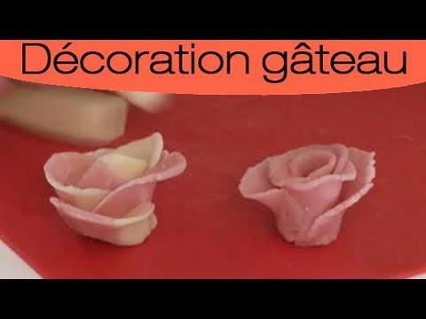 p tisserie r aliser une rose en p te d 39 amande youtube. Black Bedroom Furniture Sets. Home Design Ideas
