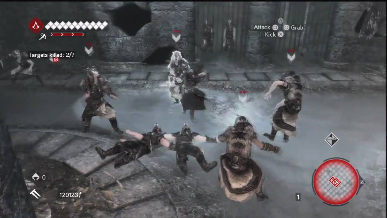 Assassins Creed Brotherhood Scroll Of Romulus 4 Dungeon Guide