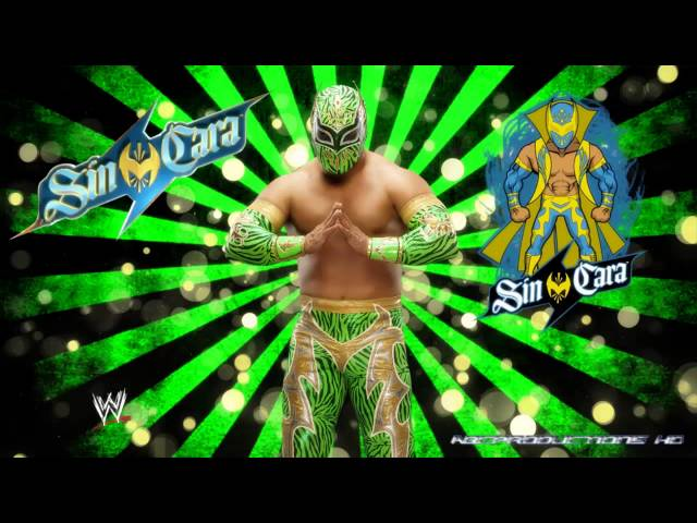 WWE Sin Caras (Red,Blue,Green) 2011-2013 Theme
