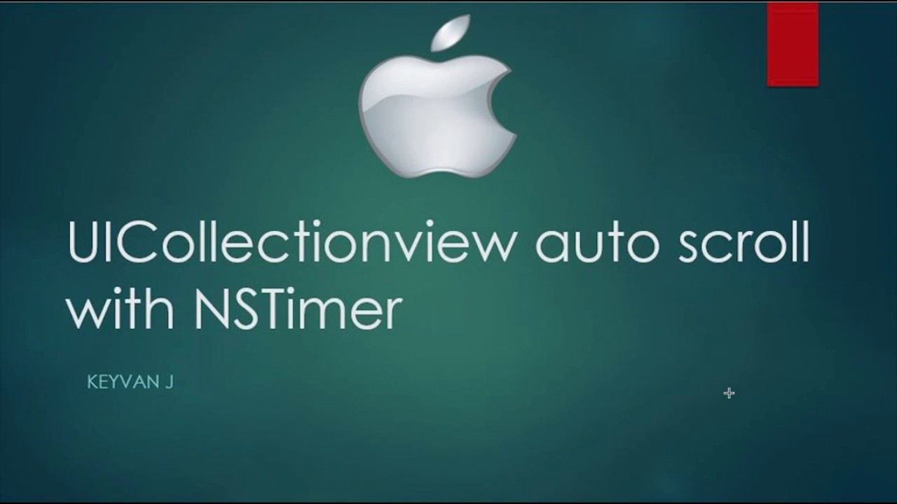 UICollectionView AutoScroll with NSTimer
