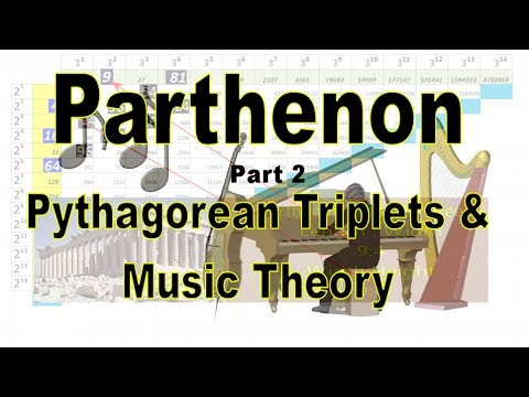 Parthenon Mystery  Part 2- Music Theory & Pythagorean Theorem