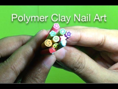 Polymer clay nail art youtube prinsesfo Choice Image