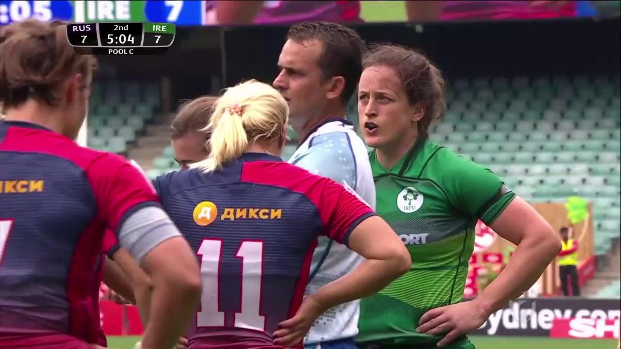 Women's 7s Sydney 2018 Russia vs Ireland