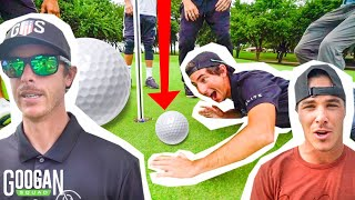 Ultimate 3v3 Golf TRICK SHOT CHALLENGE! ( SCRAMBLE MATCH )