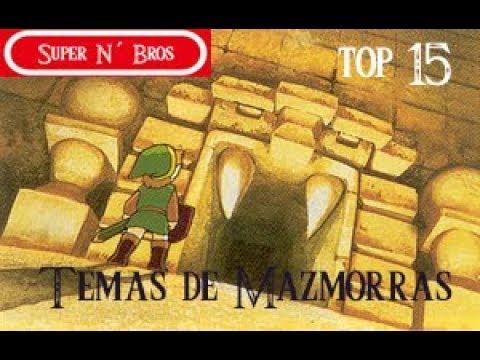 Top 15 Temas de Mazmorras-The Legend of Zelda