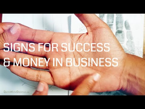 Palm Signs that Indicate Success & Money in Business (Hindi with English Subtitles)