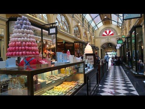 Melbourne Laneways Vlog - Tour Guide of Melbourne City 2017