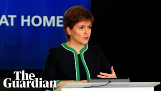 Coronavirus: Nicola Sturgeon reviews lockdown in Scotland - watch live