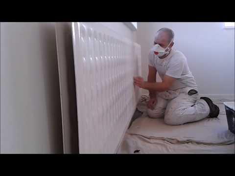 Applying Radiator Paint