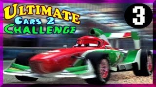 PS3 Cars 2 The Game Ultimate Challenge # 3 Francesco On Ginza Sprint Hard Difficulty