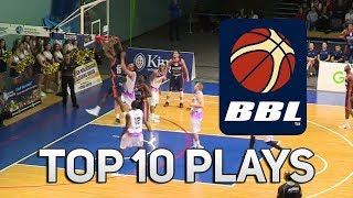 Trayvon Palmer Serves Up And-1 Poster! BBL Top 10 Plays Week 1