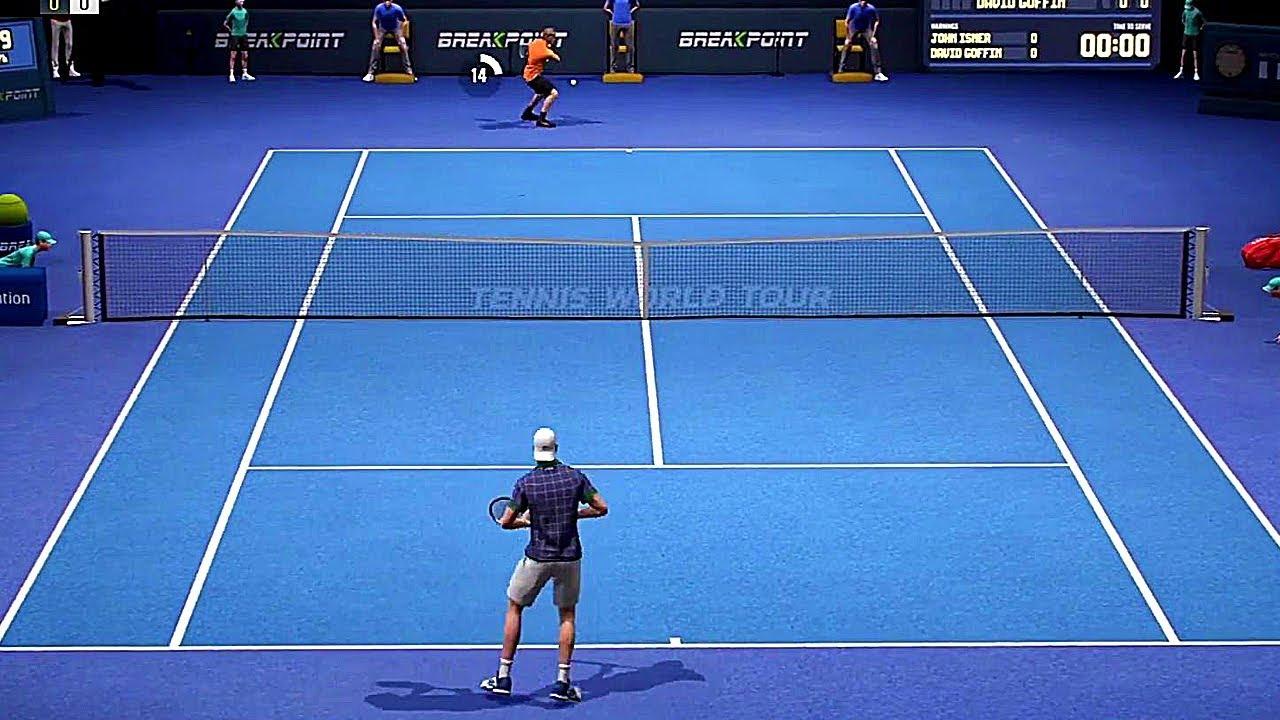 8bf96c90b57 Tennis World Tour - Gameplay Demo PS4 (PSX 2017) - YouTube