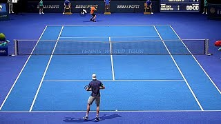 Tennis World Tour - Gameplay Demo PS4 (PSX 2017)