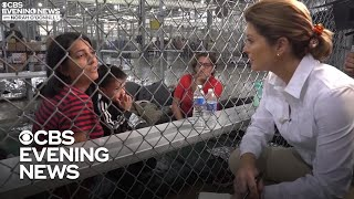 "Migrant mother describes ""terrible"" journey to the U.S."