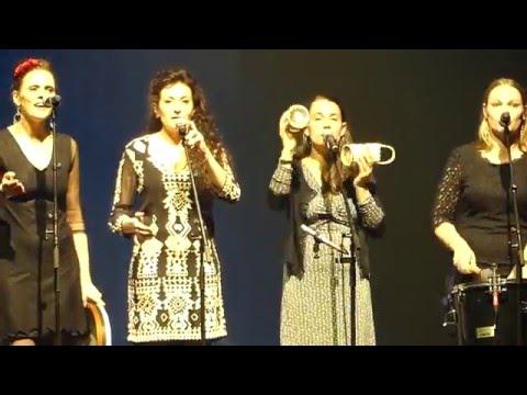 Nuits de la Bretagne 2016 : Ridee de Guillac-Josselin avec les chanteuses Barba Loutig