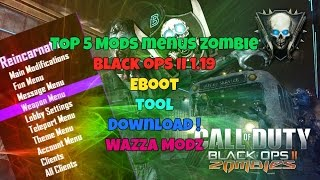 ★ [BO2 |1.19] TOP 5 Zombie Mod Menu [PS3 / XBOX / PC ] (4/5) ★