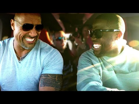 Kevin Hart and Dwayne Johnson Crush Things in a Monster Truck with Winner // Omaze Experience