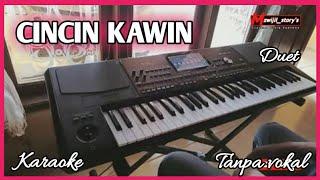 CINCIN KAWIN ~ KARAOKE - Cover musik By. MUHAMAD SIRIK