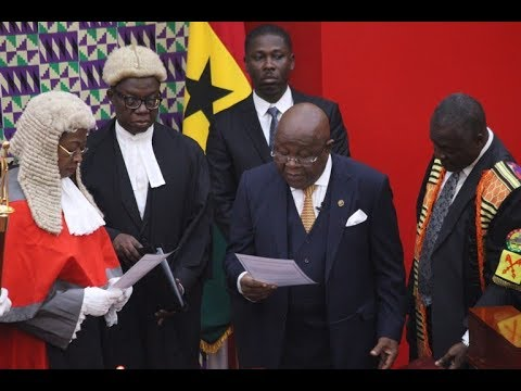 Speaker of Parliament sworn in as acting president of Ghana